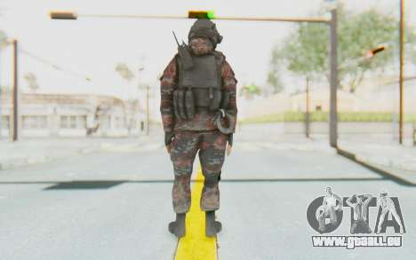 COD MW2 Russian Paratrooper v2 pour GTA San Andreas troisième écran