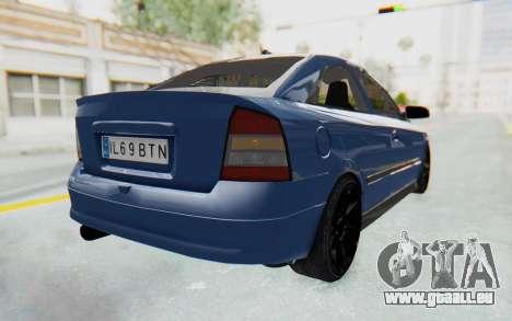Opel Bertone pour GTA San Andreas laissé vue