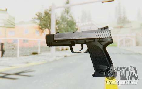 HK USP 45 Chrome für GTA San Andreas zweiten Screenshot