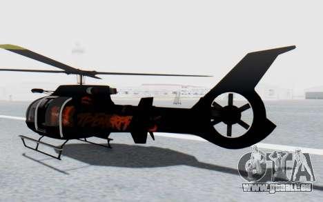 GTA 5 Maibatsu Frogger Trevor IVF pour GTA San Andreas sur la vue arrière gauche