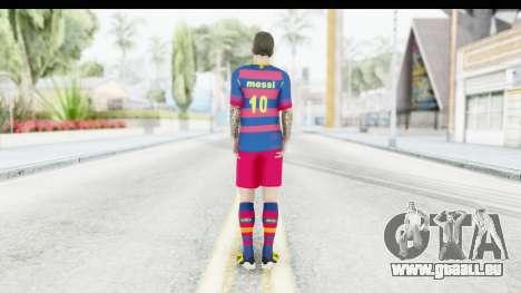 Lionel Messi für GTA San Andreas dritten Screenshot