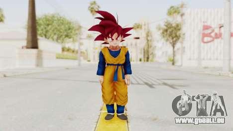 Dragon Ball Xenoverse Goten SSG pour GTA San Andreas deuxième écran