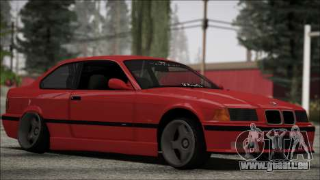 BMW E36 Stance für GTA San Andreas linke Ansicht