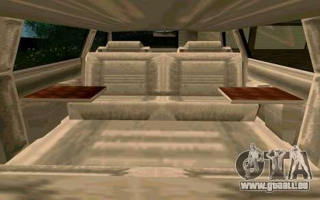 Tahoma Limousine v2.0 (HD) pour GTA San Andreas vue de côté
