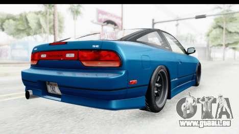 Nissan 240SX 1989 v2 für GTA San Andreas rechten Ansicht
