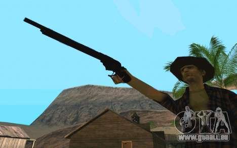 Winchester Model 1887 für GTA San Andreas dritten Screenshot