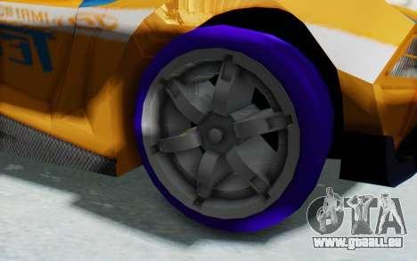 Hot Wheels AcceleRacers 4 für GTA San Andreas Rückansicht