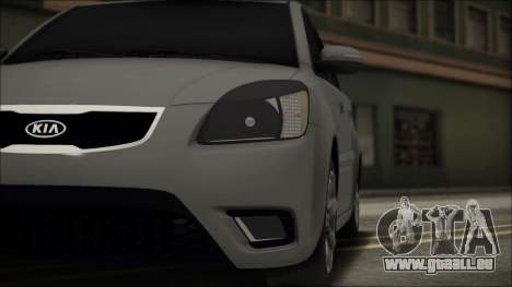 Kia Rio für GTA San Andreas Seitenansicht