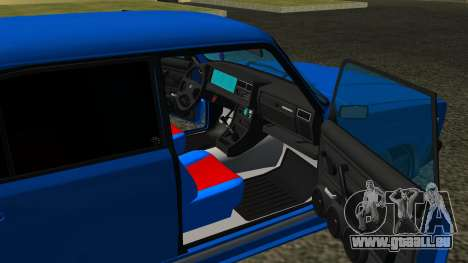 VAZ 2107 Sport pour GTA San Andreas vue de côté