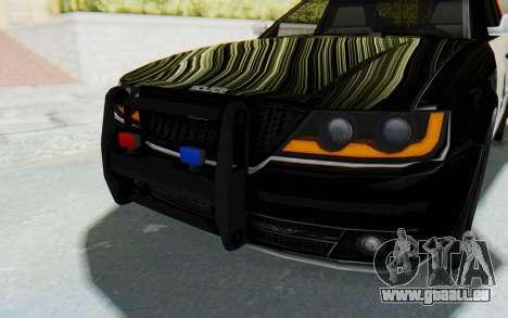 ASYM Desanne XT Pursuit v2 pour GTA San Andreas vue de dessus