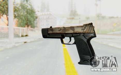HK USP 45 Army für GTA San Andreas zweiten Screenshot