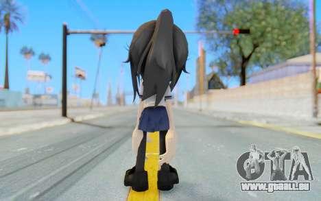Yandere-Chan The Hedgehog für GTA San Andreas dritten Screenshot
