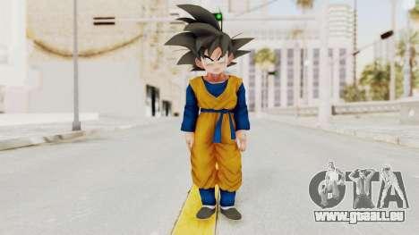 Dragon Ball Xenoverse Goten SJ pour GTA San Andreas deuxième écran