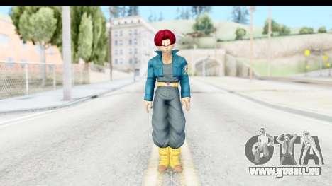 Dragon Ball Xenoverse Future Trunks SSG für GTA San Andreas zweiten Screenshot