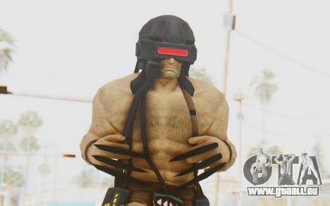 Marvel Heroes - Wolverine Weapon X pour GTA San Andreas