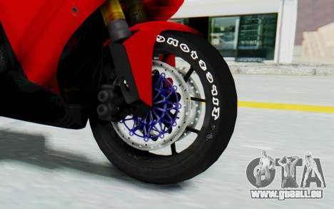 Yamaha YZF-R1 für GTA San Andreas Rückansicht