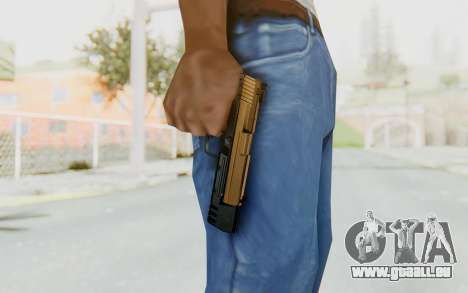 HK USP 45 Sand Frame pour GTA San Andreas troisième écran