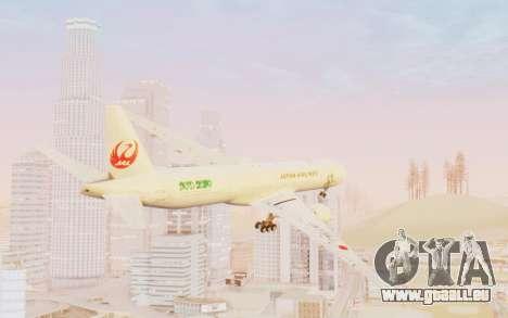 Boeing 777-300ER Japan Airlines v1 pour GTA San Andreas laissé vue
