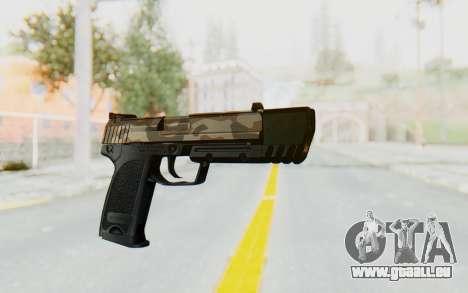 HK USP 45 Army pour GTA San Andreas