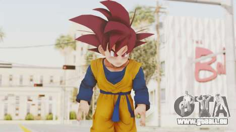 Dragon Ball Xenoverse Goten SSG pour GTA San Andreas