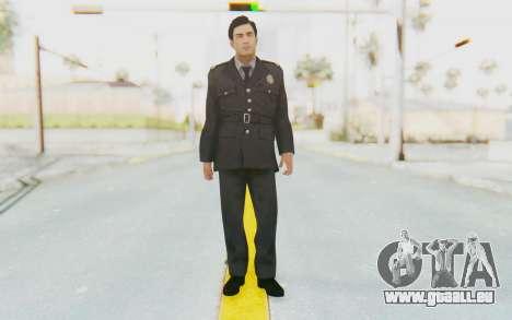 Mafia 2 - Vito Police Outfit für GTA San Andreas zweiten Screenshot