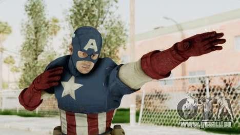 Captain America Super Soldier Classic für GTA San Andreas