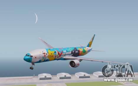 Boeing 777-300ER ZK-OKR für GTA San Andreas