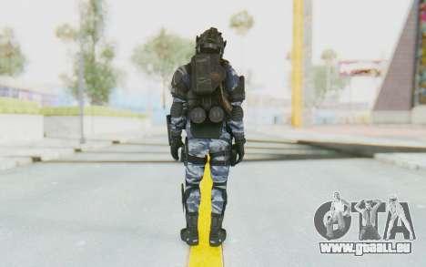 Federation Elite LMG Urban-Navy für GTA San Andreas dritten Screenshot