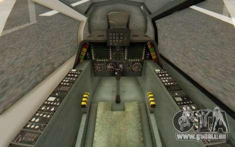 WZ-19 Attack Helicopter pour GTA San Andreas vue de côté