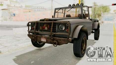 GTA 5 Canis Bodhi Trevor für GTA San Andreas