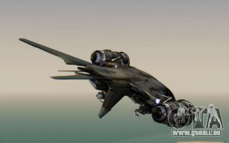 HK Aerial from Terminator Salvation pour GTA San Andreas laissé vue