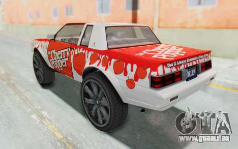 GTA 5 Willard Faction Custom Donk v2 pour GTA San Andreas vue de dessous