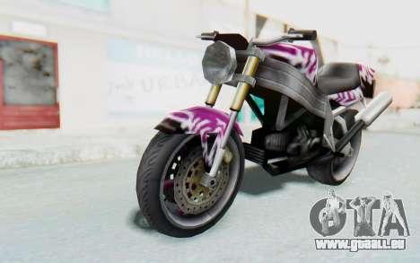 FCR-900 Custom v2 pour GTA San Andreas