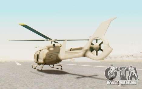 GTA 5 Maibatsu Frogger Civilian für GTA San Andreas linke Ansicht