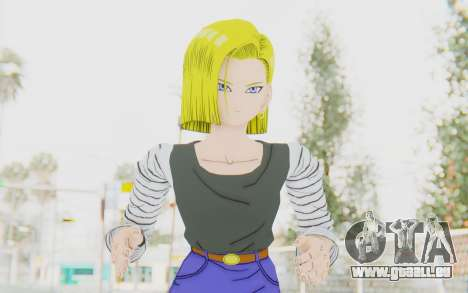 Dragon Ball Xenoverse Android 18 No Jacket für GTA San Andreas