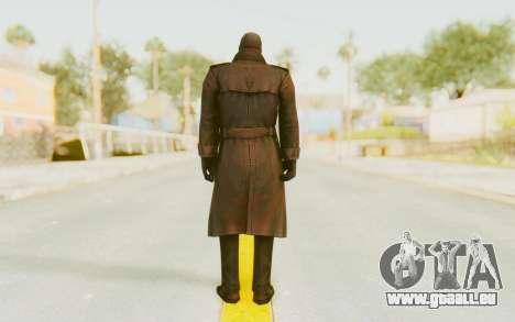Marvel Future Fight - Punisher (Noir) pour GTA San Andreas troisième écran