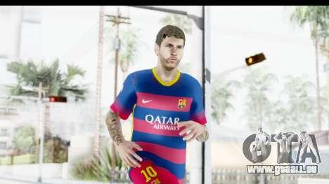 Lionel Messi für GTA San Andreas