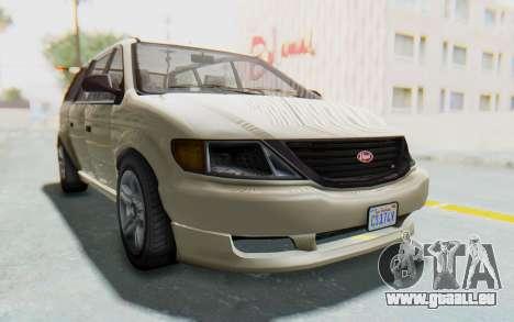 GTA 5 Vapid Minivan IVF pour GTA San Andreas