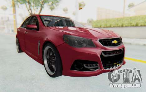Chevrolet Super Sport 2014 pour GTA San Andreas