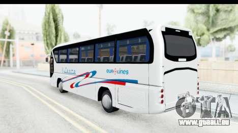Neoplan Lasta Bus für GTA San Andreas linke Ansicht