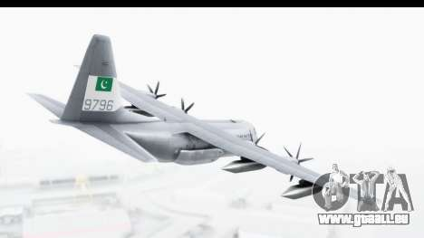 C-130 Pakistan pour GTA San Andreas vue de droite