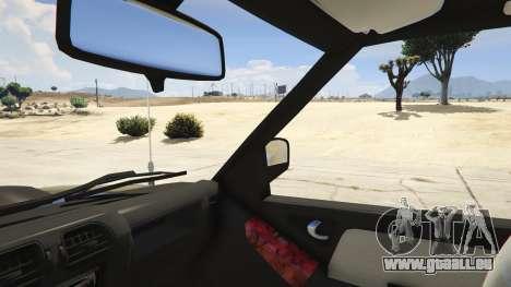 GTA 5 2011 Chevrolet S-10 Rodeio droite vue latérale