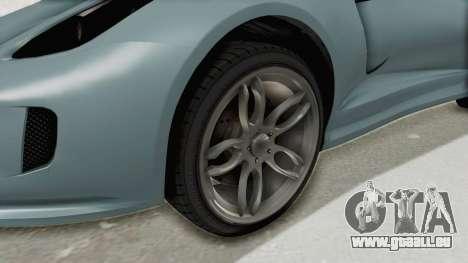 GTA 5 Grotti Bestia GTS v2 SA Lights pour GTA San Andreas vue arrière
