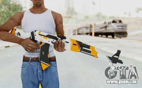 CS:GO - AK-47 Asiimov für GTA San Andreas dritten Screenshot