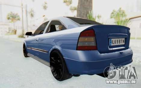 Opel Bertone pour GTA San Andreas sur la vue arrière gauche