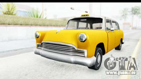 Cabbie London für GTA San Andreas rechten Ansicht