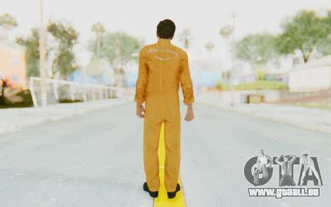 Mafia 2 - Vito Scaletta Robber pour GTA San Andreas troisième écran