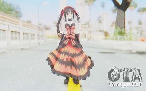 Kurumi Tokisaki (Date A Live) pour GTA San Andreas deuxième écran