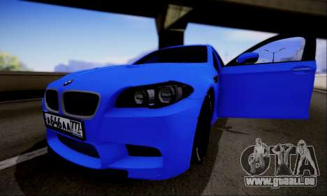 BMW M5 F10 G-Power pour GTA San Andreas