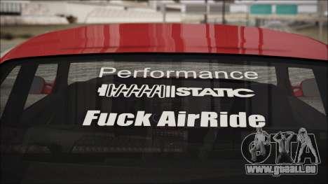 BMW E36 Stance für GTA San Andreas rechten Ansicht